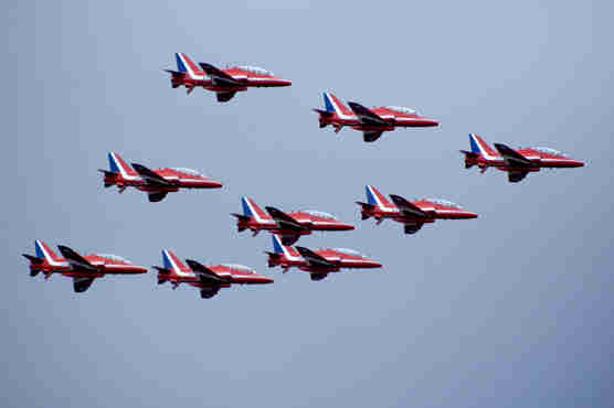 Linc Secure - Red Arrows